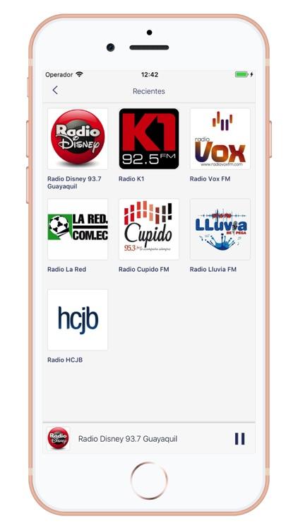 Radios de Ecuador - AM/FM screenshot-4