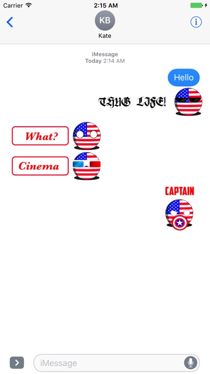 CountryBalls - USA screenshot-3