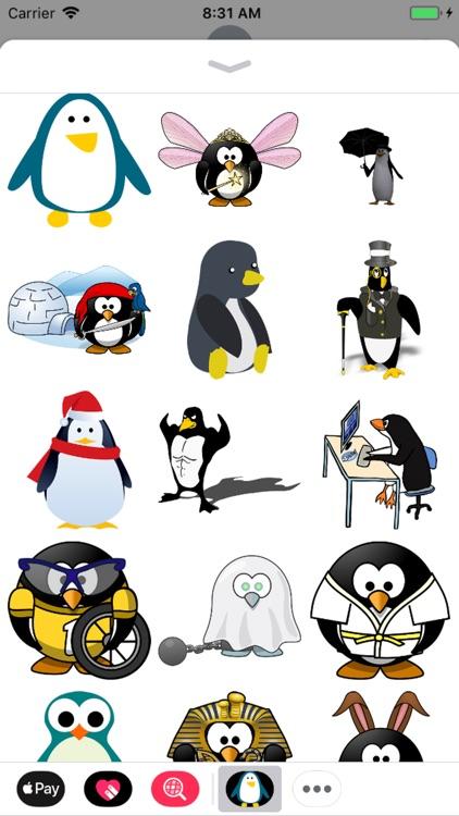 Penguin Stickers - Sid Y