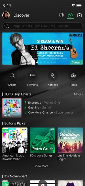 Joox music on the app store iphone screenshots stopboris Choice Image