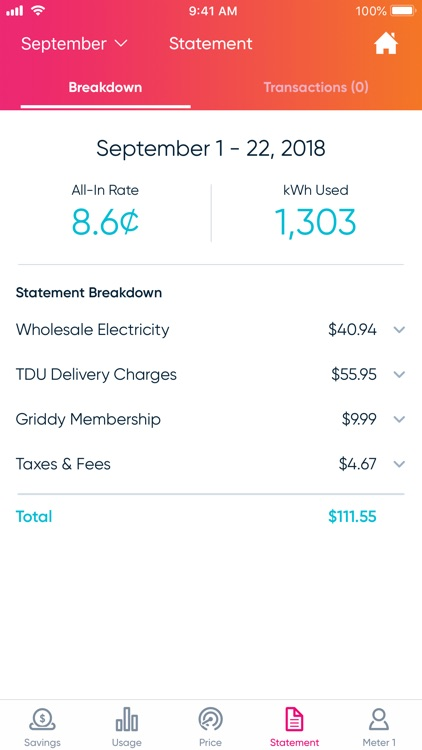 Griddy – Wholesale Electricity screenshot-3