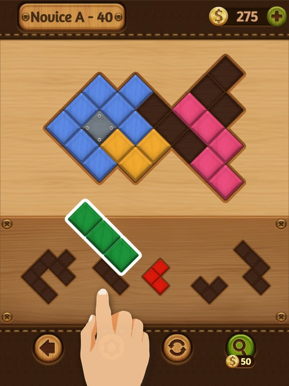 Block Puzzle: Wood Collection screenshot 13