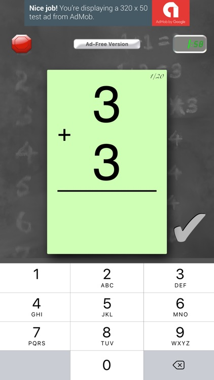 FlashToPass Free Math Flash Cards screenshot-0