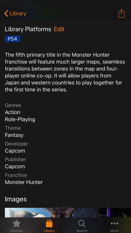 Gamer - Manage Your Games screenshot-3