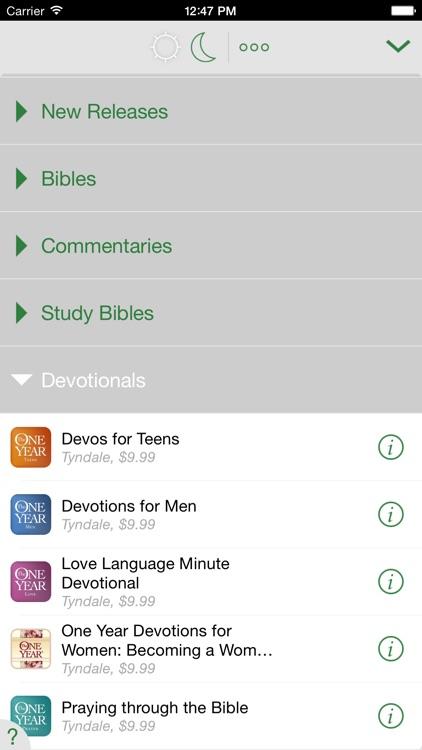 One Year® Thru the Bible Devo screenshot-4