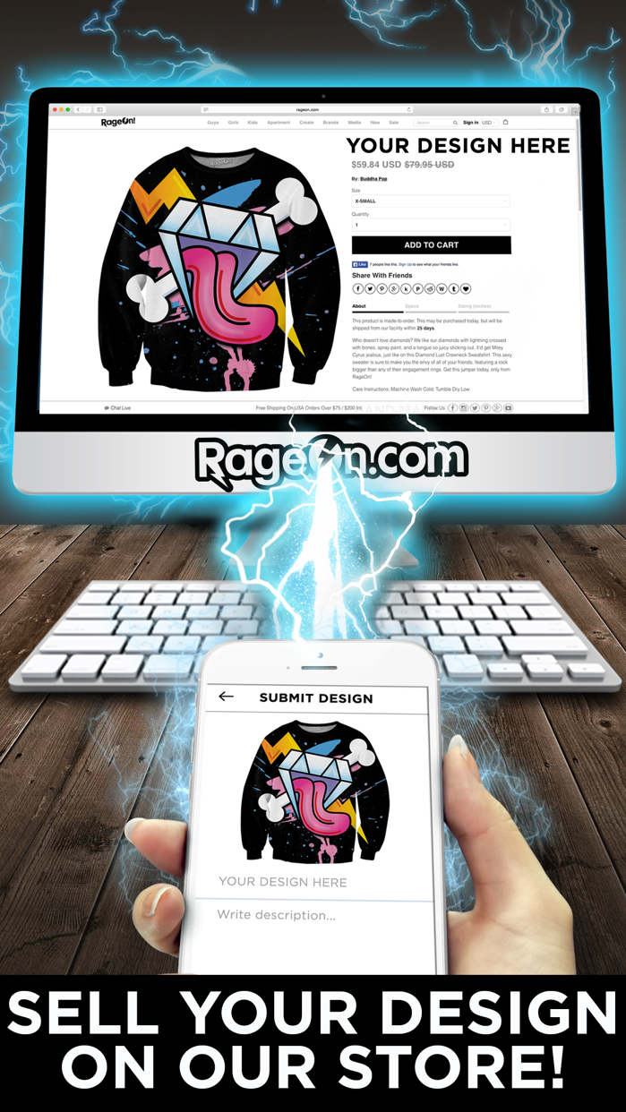 RageOn! Screenshot