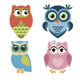Owl Sticker Collection