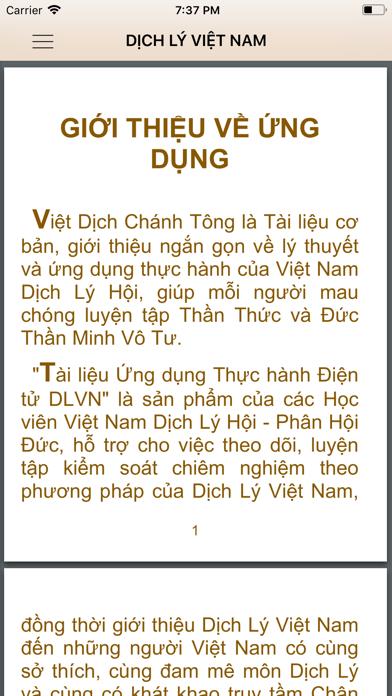 Dịch Lý VN screenshot four