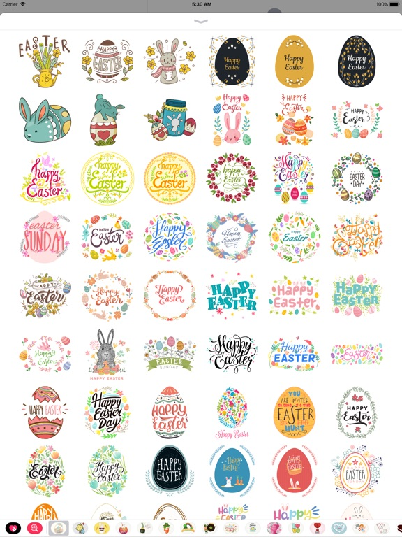 Hand Drawn Easter Day Stickers screenshot 10