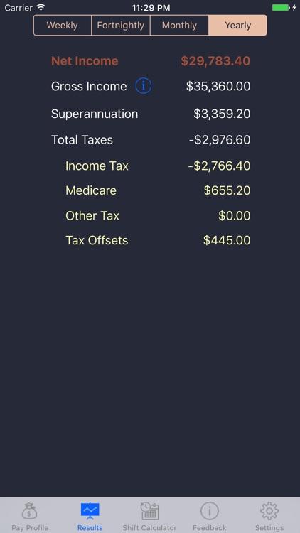 Aus Pay Calculator screenshot-3