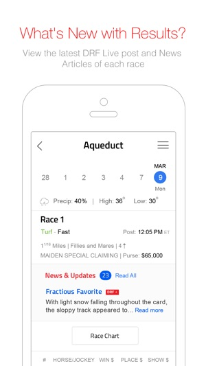 Daily Racing Form On The App Store