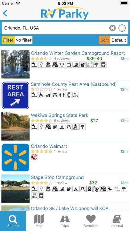RV Parky - Parks & Campgrounds