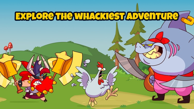 What The Hen: Enter Dragons! screenshot-4