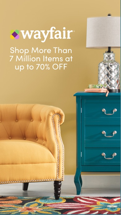 Wayfair shop all things home app report on mobile action for Wayfair store