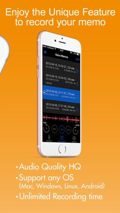 Voice Recorder HD screenshot three