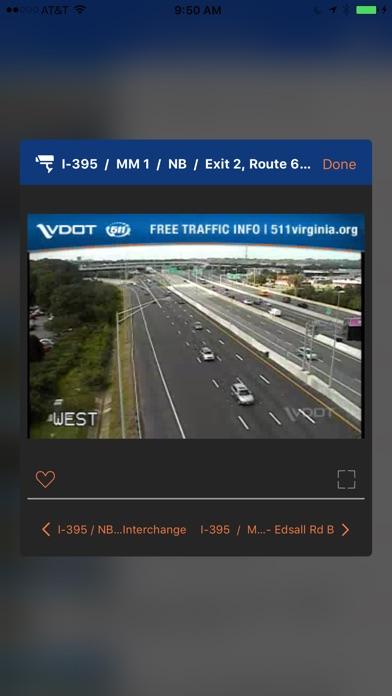 VDOT 511 Virginia Traffic iPhone