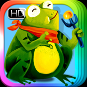 The Frog Prince - bedtime fairy tale Interactive Book-iBigToy icon