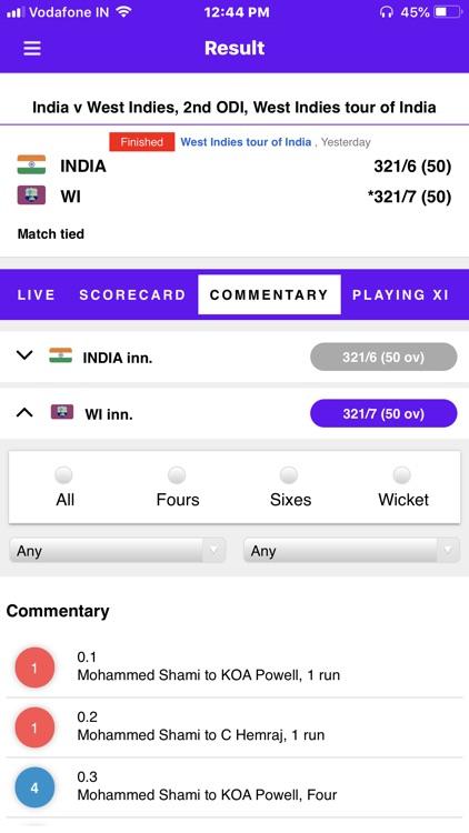 Live Cricket Score 2018 screenshot-6