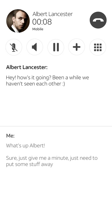 Real Time Text screenshot 4