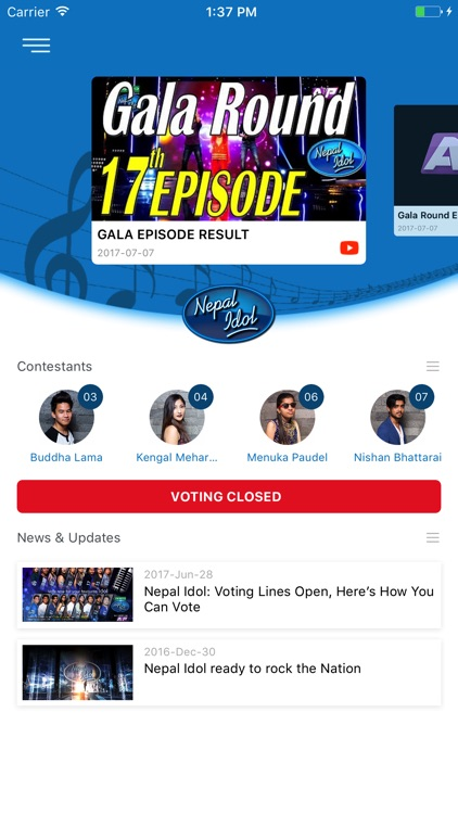 Nepal Idol screenshot-0