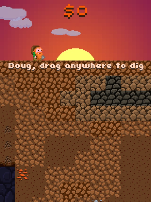 Doug dug. Screenshot