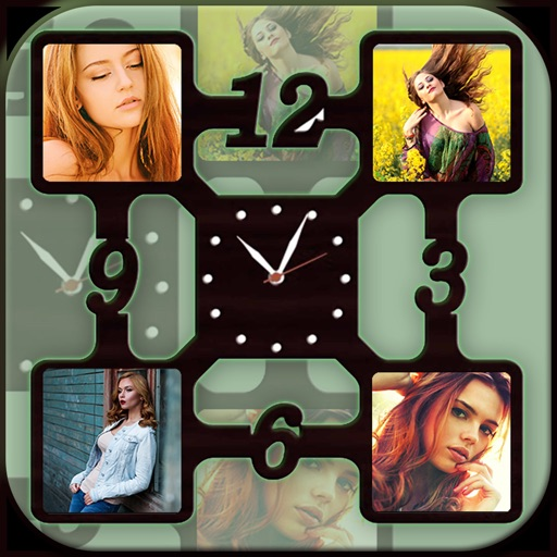 Clock Photo Collage Maker
