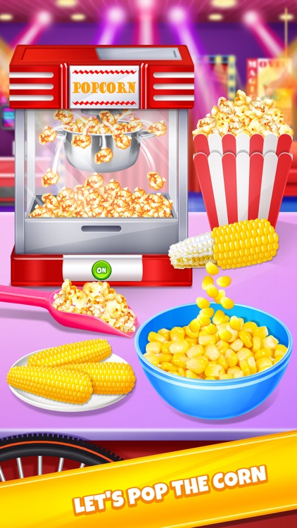 Crazy Movie Night Food Party screenshot-0
