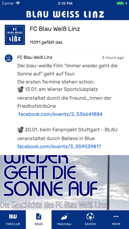 Blau Weiß Linz screenshot-4