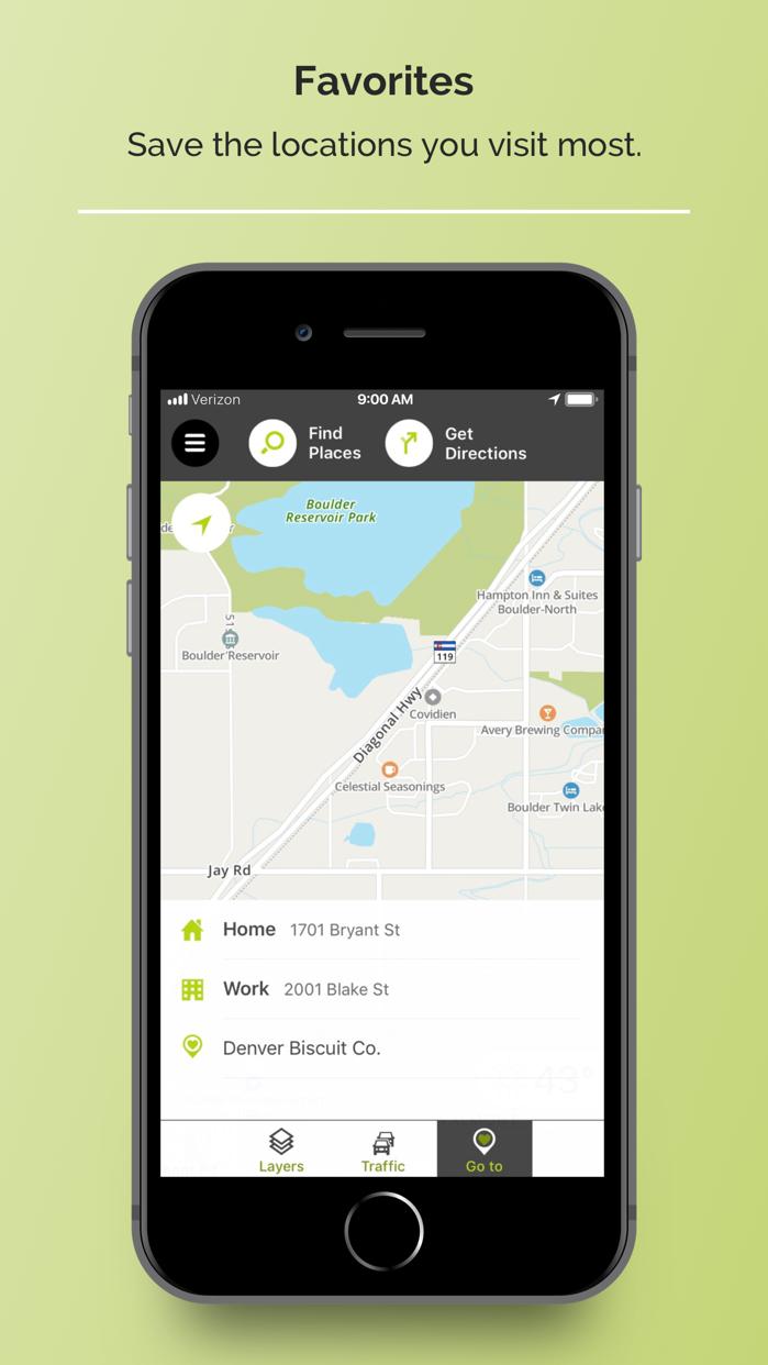 MapQuest - GPS & Navigation Screenshot