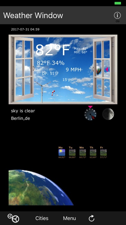 Weather Window