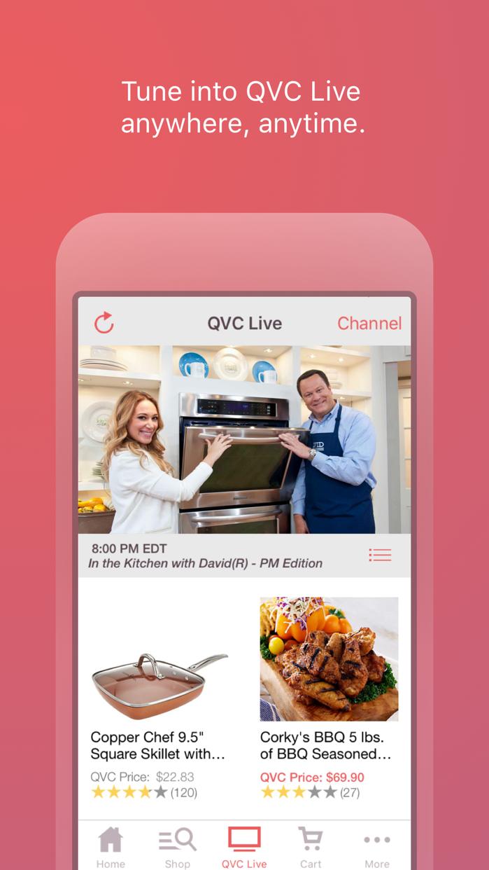 QVC for iPhone Screenshot