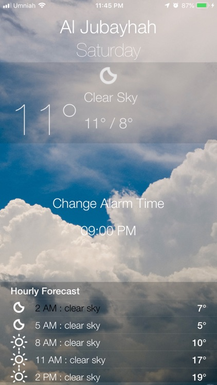 منبه الطقس screenshot-4