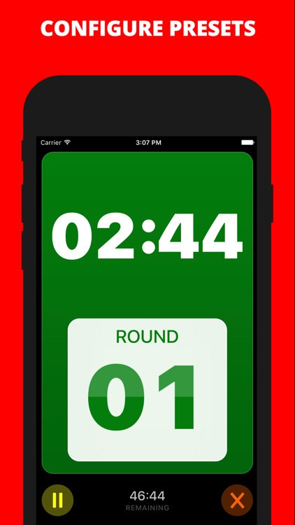 Boxing Timer Pro screenshot-1