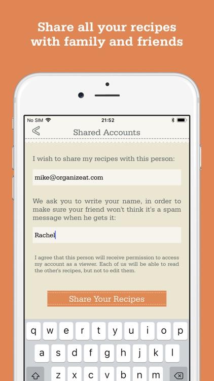Recipe Organizer by OrganizEat screenshot-6