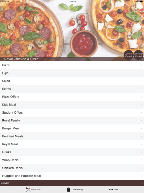 Royal Chicken Pizza App Price Drops