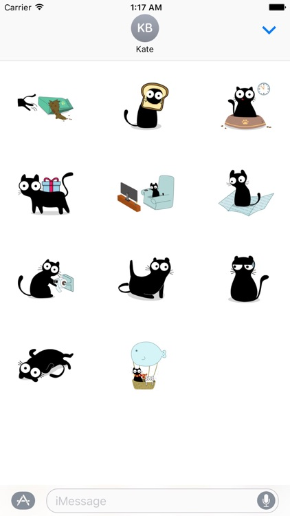 Love and Cat Sticker Pack