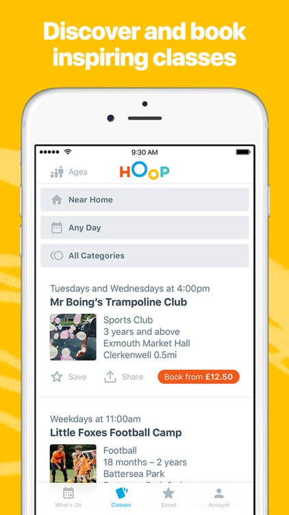 Hoop - What's on for your family screenshot-4