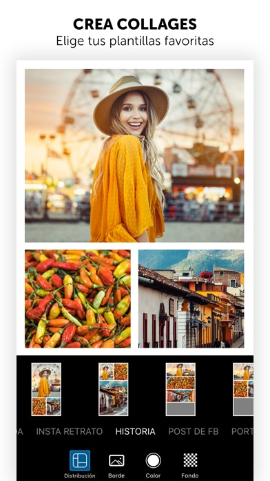 Screenshot for PicsArt Editor de Fotos in Ecuador App Store