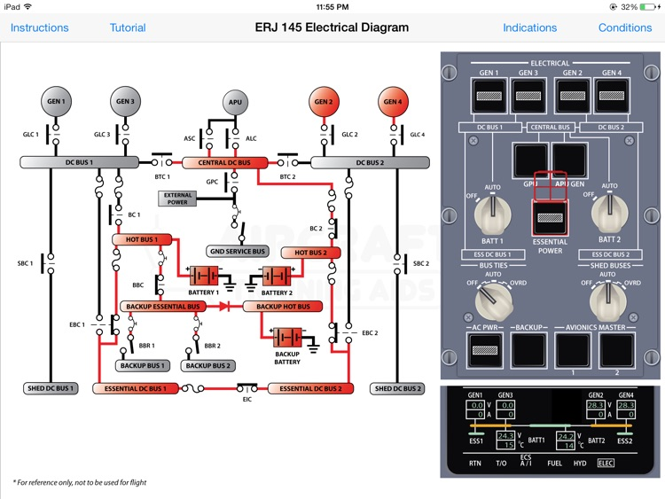 ERJ 145 Electrical Diagram screenshot-3