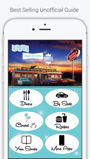 Diners & Drive-Ins TV Unofficial Guide on the App Store on