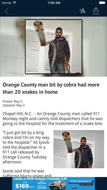 WRAL News Mobile screenshot-4