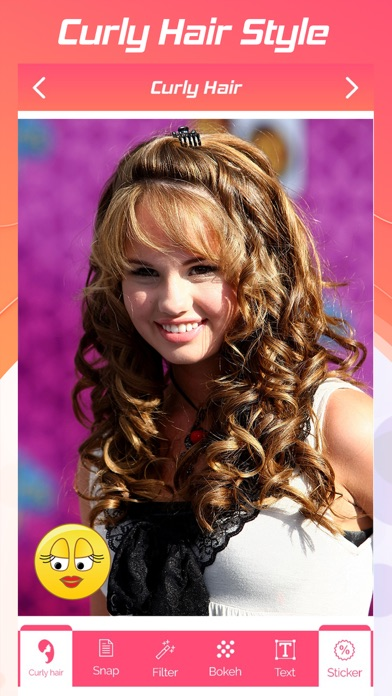 Curly Hair Style Photo Editor App Price Drops
