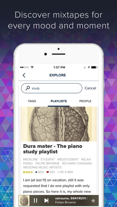 8tracks - Best Playlist Radio app image
