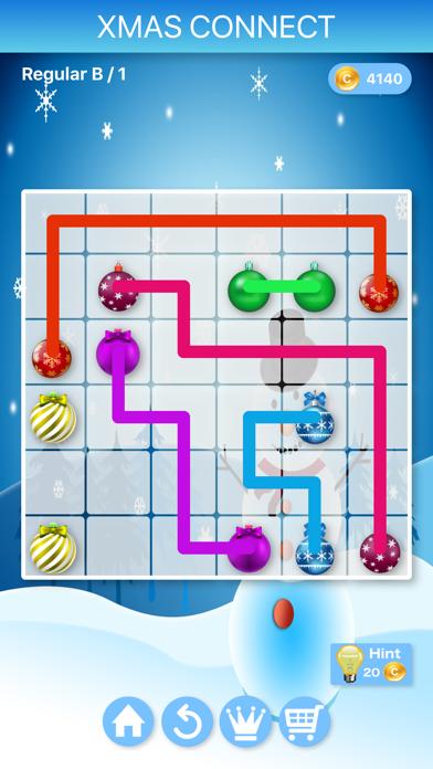 Christmas Connect - Puzzlesのおすすめ画像4