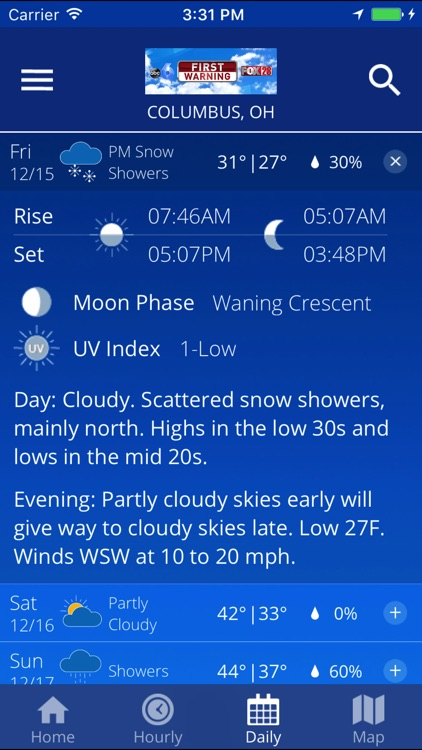 OHIO WX screenshot-4