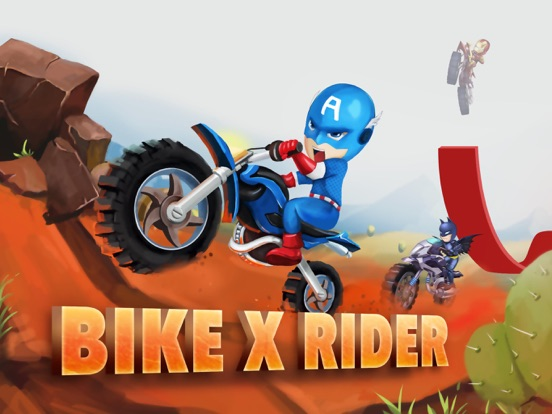 Bike X Rider-Motorcycle Games-ipad-0