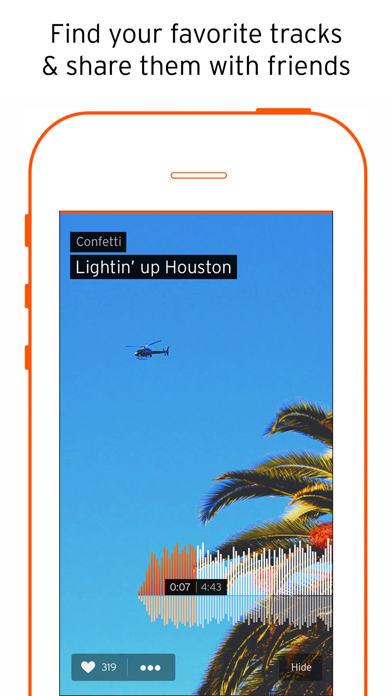 Screenshot for SoundCloud - Musik og lyd in Denmark App Store