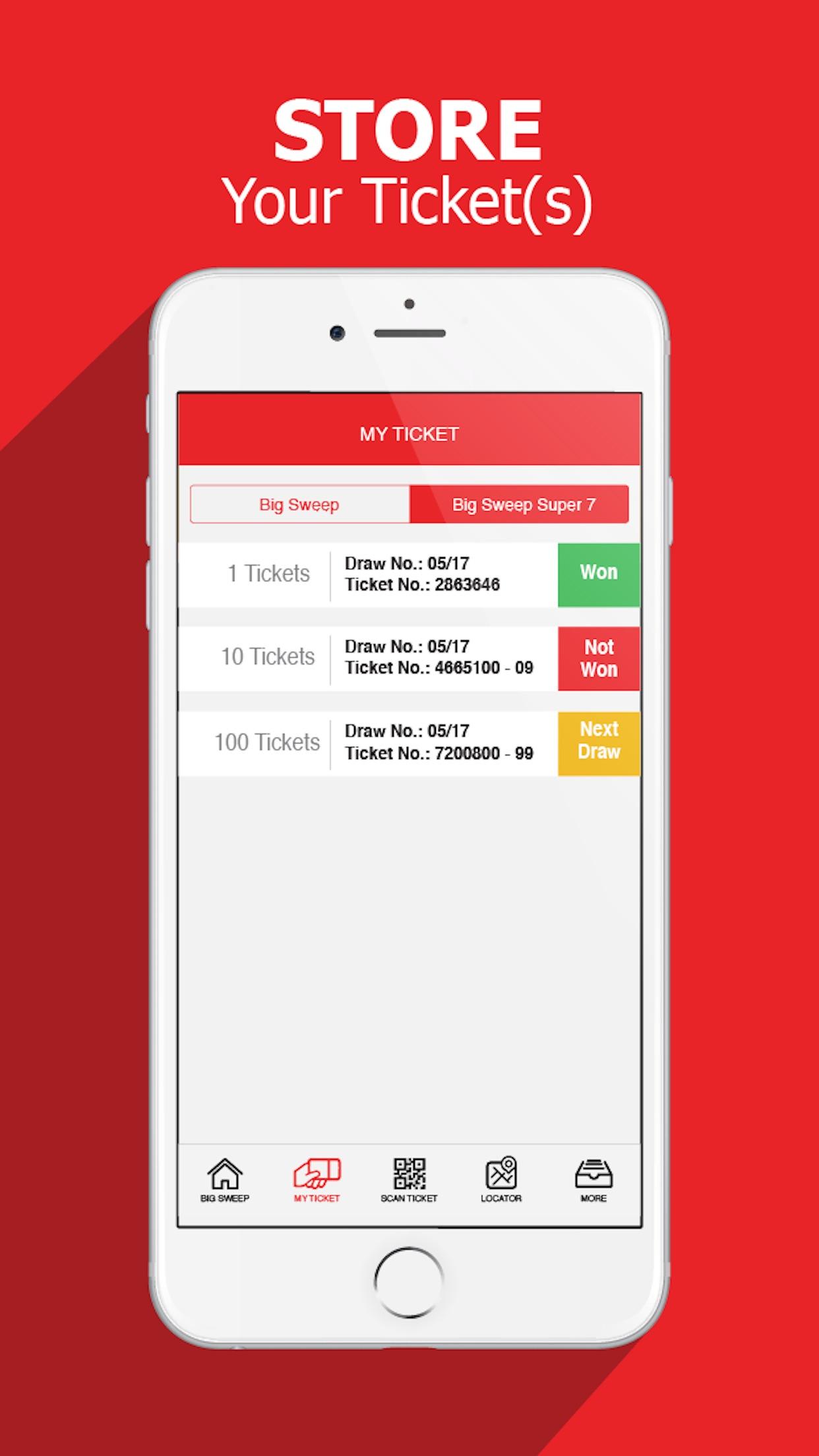 Big Sweep Official App Screenshot