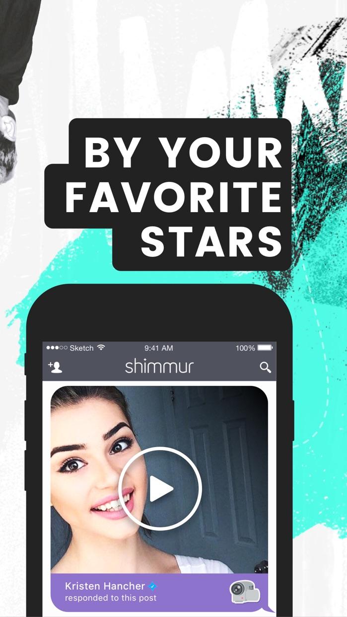 Shimmur - get noticed Screenshot