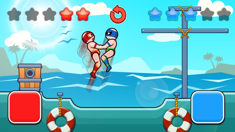 Wrestle Jump Man-Fight Club screenshot-1